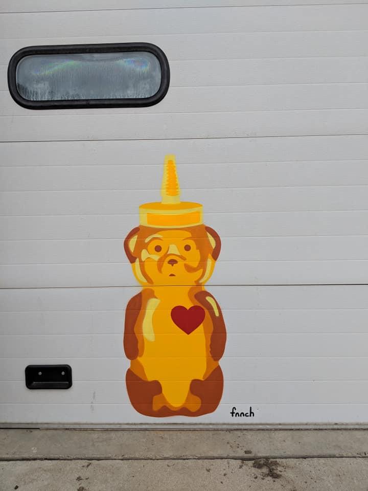 fnnch - Heart Bear - Wabash Walls - Tippecanoe - 2018