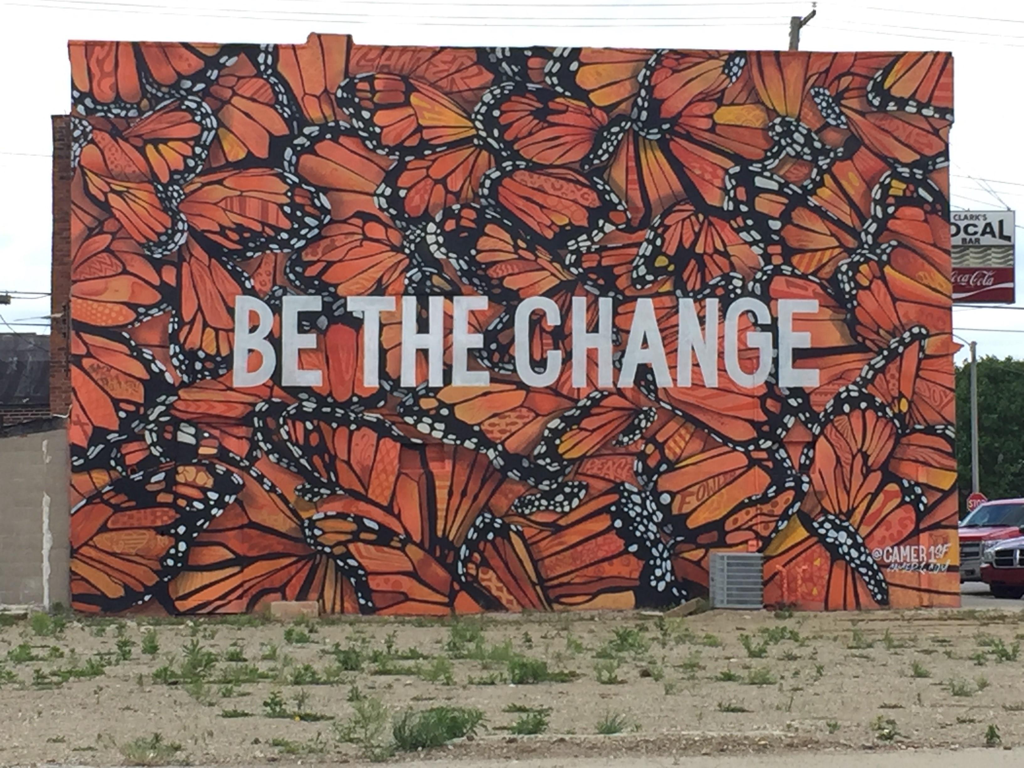Tippecanoe arts federation making arts work lafayette for Common threads mural